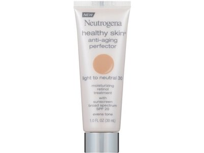 Neutrogena Healthy Skin SPF 20 Light to Natural Anti Aging Perfector, 1 Ounce