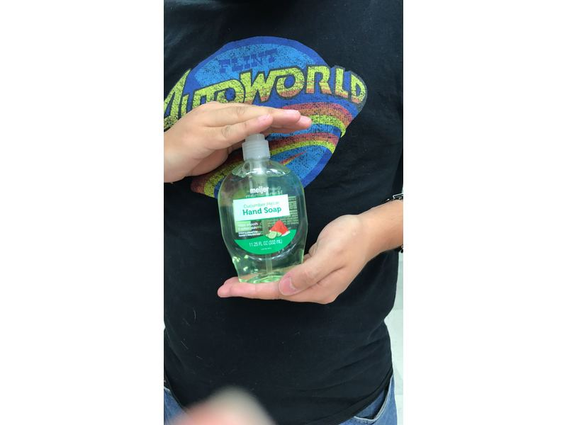 Meijer Hand Soap, Cucumber Melon, 11.25 fl oz
