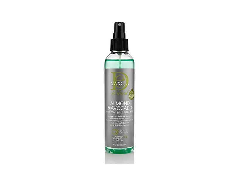 Design Essentials Almond & Almond Curl Control & Shine Mist 8oz.