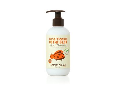 Hypoallergenic Conditioning Detangler with an Organic Blend of Tangerine, Lemon, and Rosemary, Happy Tangerine Scent, 8.5 Fluid Oz