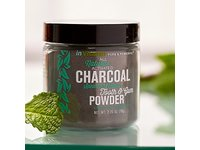 inVitamin Natural Tooth & Gum Powder with Activated Charcoal, Spearmint, 2.75 oz - Image 5