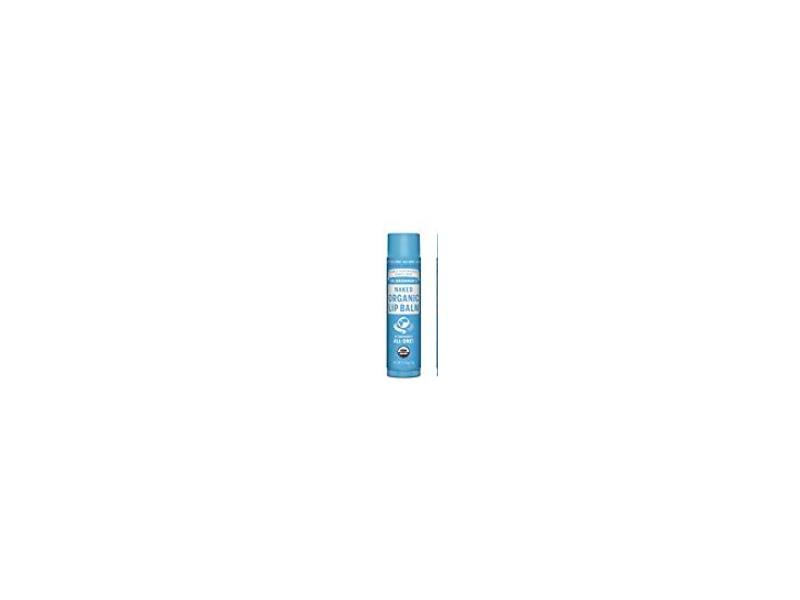 Dr. Bronner's Organic Lip Balm, Naked, 0.15 oz