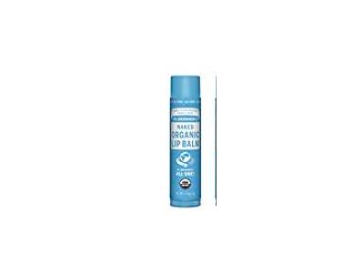 Dr. Bronner's Organic Lip Balm, Naked, 0.15 oz - Image 1