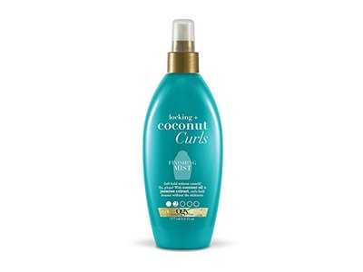 OGX Locking + Coconut Curls Finishing Mist, 6 Ounce