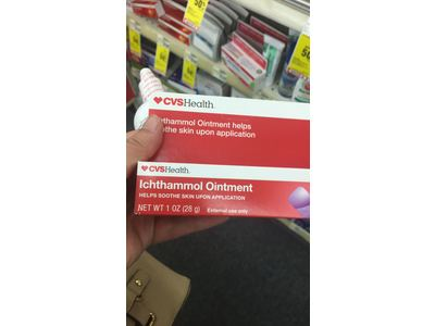 CVS Health Ichthammol Ointment, 1 oz Ingredients and Reviews