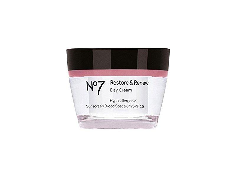 Boots no7 Restore & Renew Day Cream, SPF 15, 1.6 fl oz