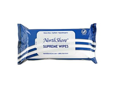 NorthShore Supreme Heavy-Duty Quilted Wipes, X-Large, 9 x 13 in., 50 ct (3 Pack)