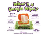 Boogie Infant Wipes, Unscented, 30 Count (Pack of 12) - Image 7