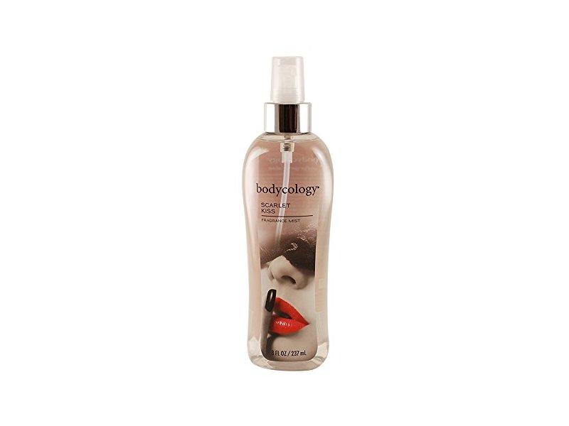 Bodycology Fragrance Mist for Women, Scarlet Kiss, 8.0 fl oz
