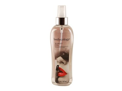 Bodycology Fragrance Mist for Women, Scarlet Kiss, 8.0 fl oz