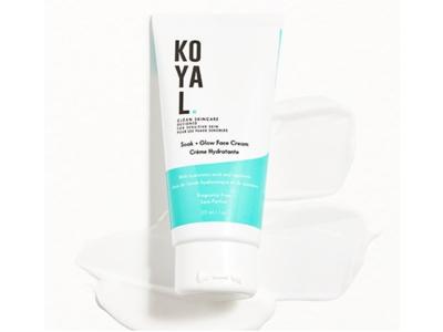 Koyal Soak - Glow Face Cream, Fragrance Free, 1 oz/30 mL