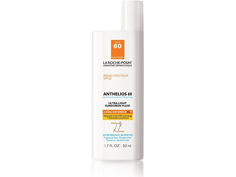 La Roche-Posay Anthelios Face Sunscreen Ultra-Light Fluid with Antioxidants, 1.7 fl oz