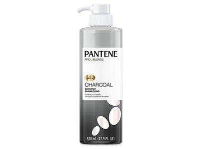 Pantene Pro-v Blends Charcoal Shampoo, 17.9 Fluid Ounce