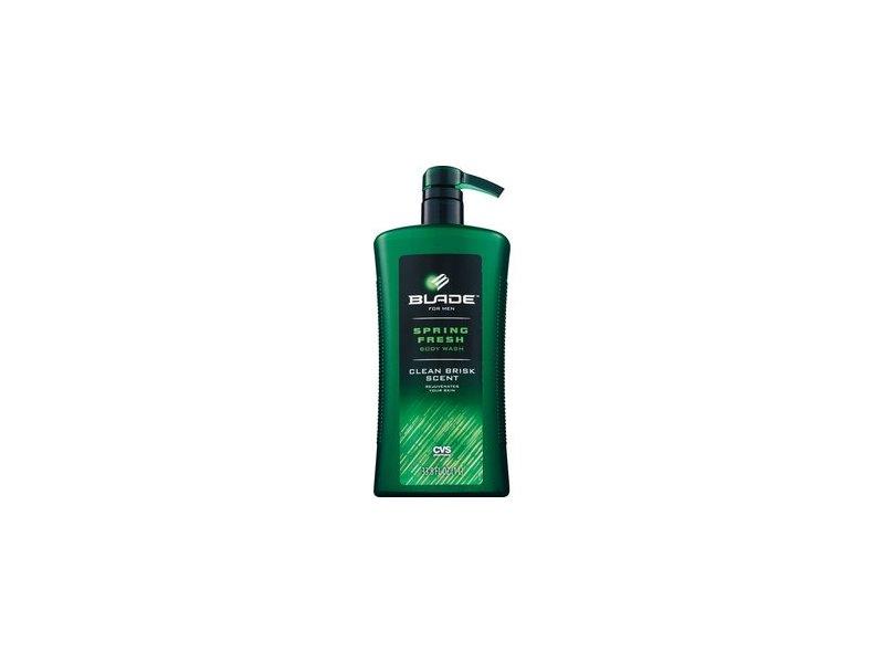 Blade Spring Fresh Body Wash for Men, 33.8 oz