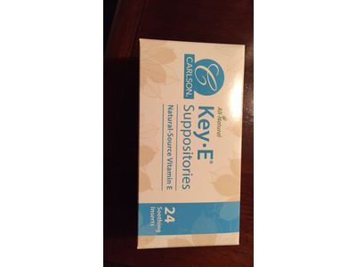 Carlson Key-E Suppositories for Women, 24 ct - Image 3