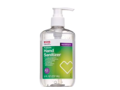 CVS Health Prebiotic Hand Sanitizer, 8 fl oz