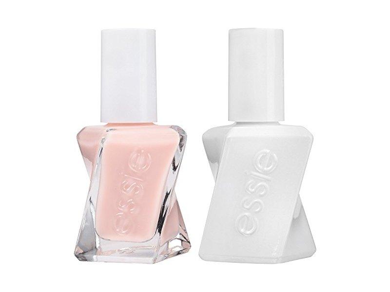 Essie Gel Couture Nail Polish + Top Coat Kit, Fairy Tailor, 0.46 fl oz