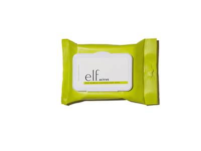 e.l.f. Active Post-Workout Cleansing Body Wipes, 20 wipes