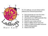 Ladibugs Hair Care Lice Prevention Detangling Spray, 8 fl oz - Image 6