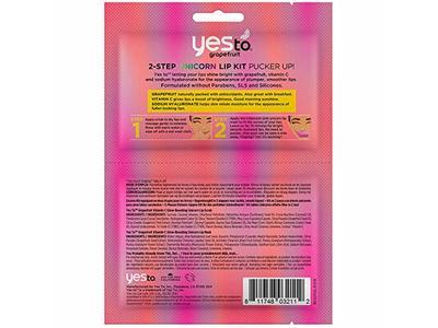 Yes To Grapefruit Vitamin C Glow-Boosting Unicorn Paper Mask - Single Use - Image 5