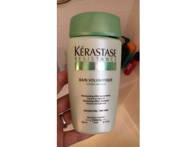 Kerastase Resistance Bain Volumifique Thickening Effect Shampoo, 8.5 oz - Image 4