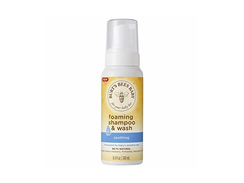 Burt's Bees Baby Foaming Shampoo & Wash – 8.4 Ounce