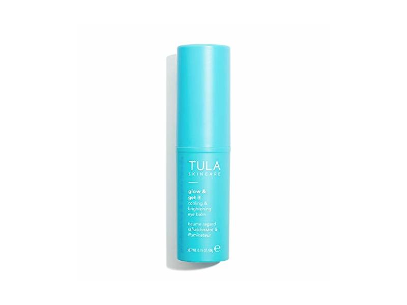 Tula Skincare Glow And Get It Cooling And Brightening Eye Balm, 0.35 oz/10 g
