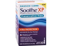 Soothe Xtra Protection Preservative Free Emollient Lubricant Eye Drops, 30 Count - Image 8