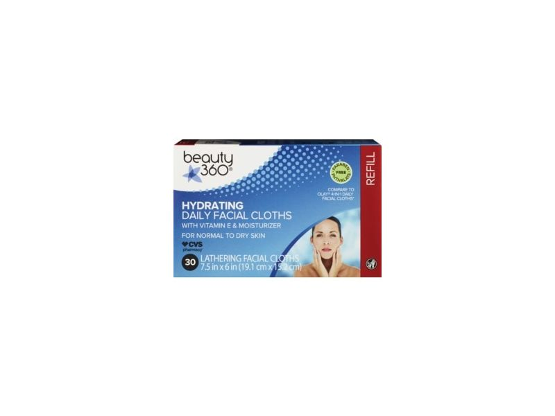 Beauty 360 Hydrating Daily Facial Cloths