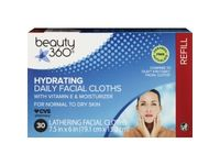 Beauty 360 Hydrating Daily Facial Cloths - Image 2
