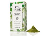 It's Pure Organics Herbal Hair Colour, Dark Brown, 110 g - Image 2