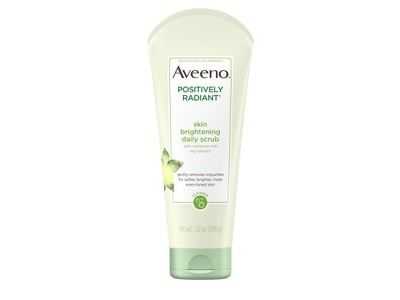 Aveeno Positively Radiant Skin Brightening Exfoliating Face Scrub
