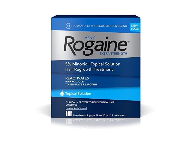 Rogaine Men's Extra Strength Solution, 2 Oz.