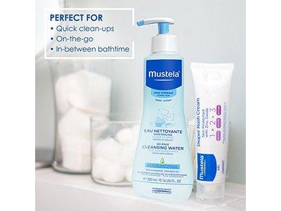 Mustela No-Rinse Cleansing Micellar Water, 10.14 fl oz - Image 6
