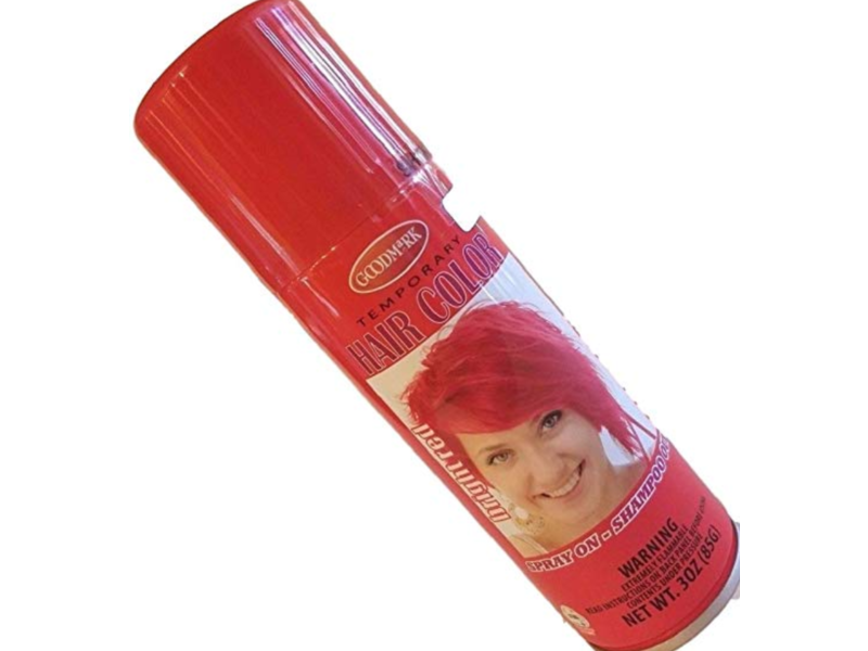 Goodmark Temporary Hair Color, Bright Red, 3 oz