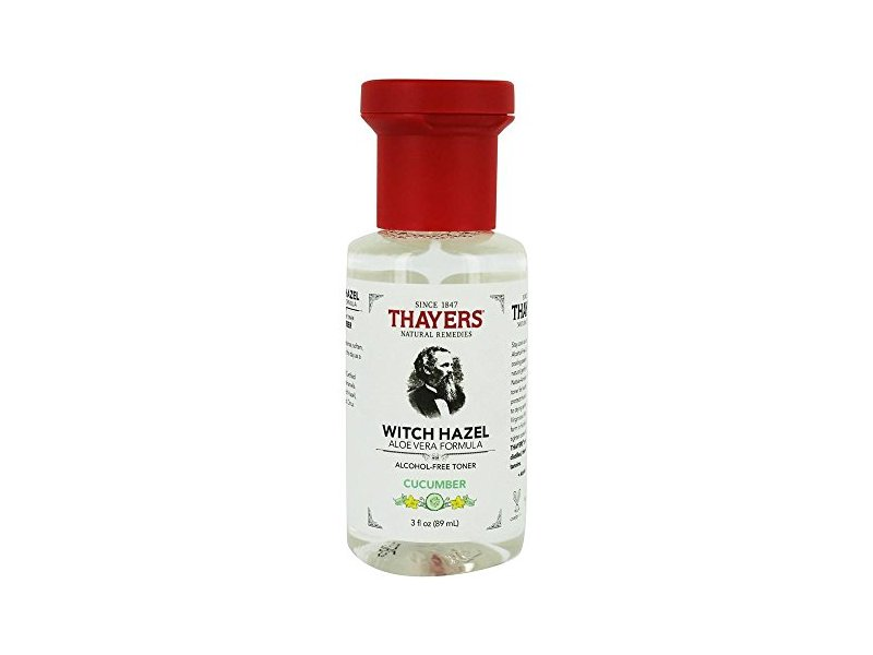 Thayers Cucumber Witch Hazel Toner, 3 fl oz (89 mL)