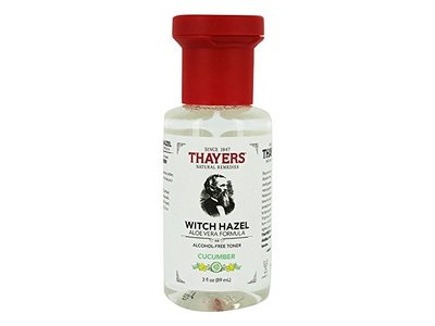 Thayers Cucumber Witch Hazel with Aloe Vera Alcohol-free Toner (3 Ounces) Travel Size