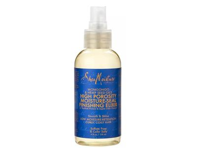 SheaMoisture Mongongo & Hemp Seed Oils High Porosity Moisture Correct Finishing Elixir, 4 fl oz