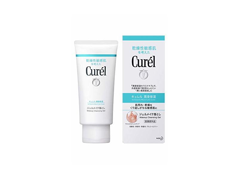 Curel Kao Makeup Cleansing Gel, 45 oz/130 g