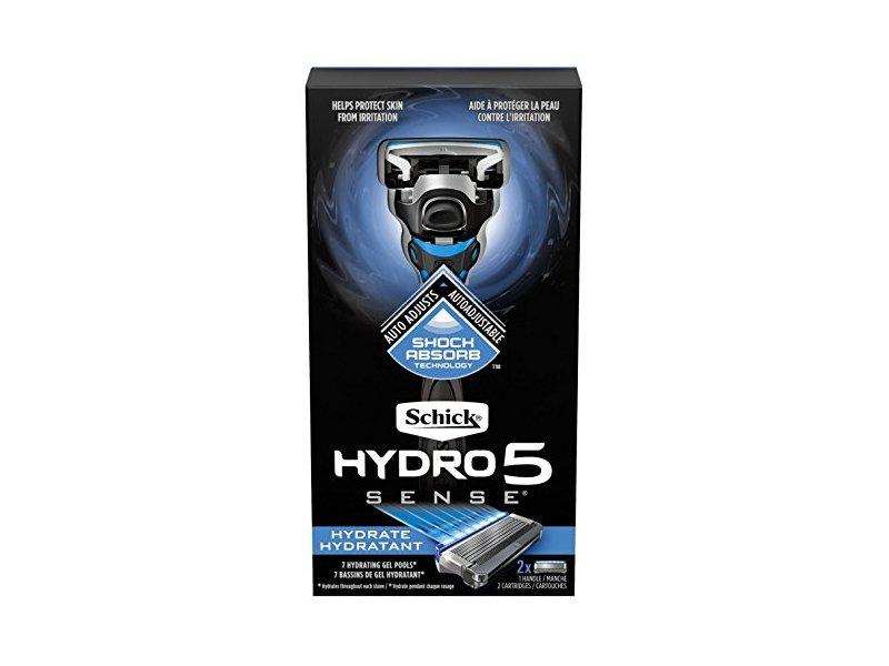 Schick Mens Hydro5 Sense Razor Hydrate, 7 ct