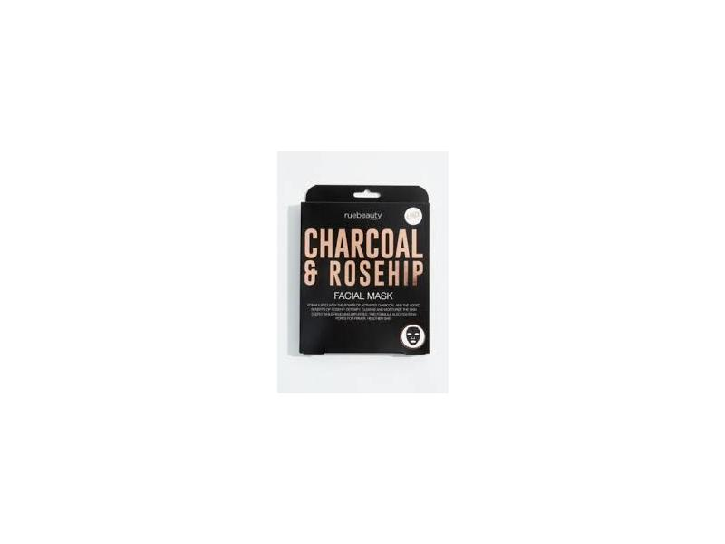 Ruebeauty Charcoal & Rosehip Facial Mask, 1 count