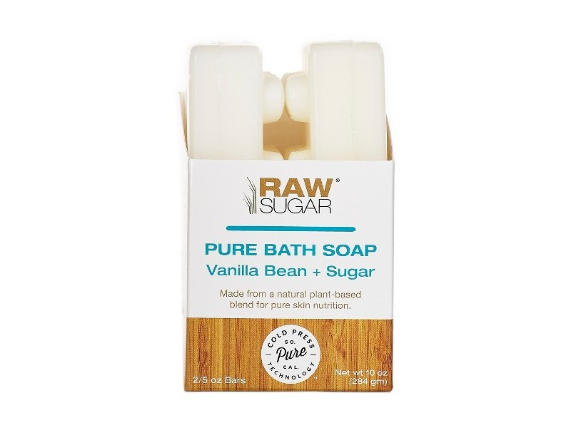 Raw Sugar Pure Amp Natural Bar Soap Vanilla Bean Sugar 10 Oz Ingredients And Reviews