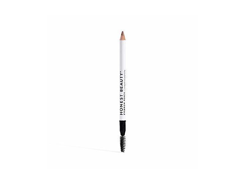 Honest Beauty Eyebrow Pencil with Spoolie, Taupe 0.039 oz.