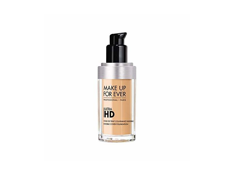 Make Up For Ever Ultra HD Invisible Cover Foundation, Pink Beige (R260), 30 mL