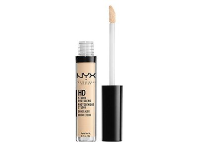 NYX Professional Makeup HD Studio Photogenic Concealer, 00 Alabaster, 0.11 oz/3 g
