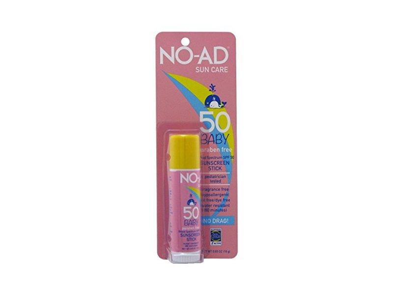 No-Ad Spf#50 Sunscreen Baby Stick