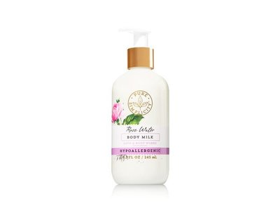 Bath & Body Works Pure Simplicity Body Milk, Rose Water, 8 fl oz - Image 1