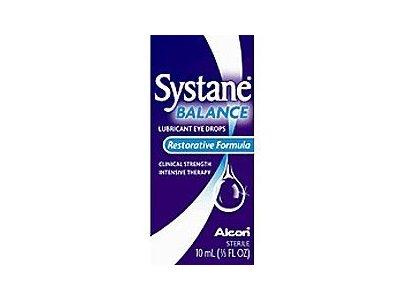 Systane Balance Lubricant Eye Drops Restorative Formula, 10 mL