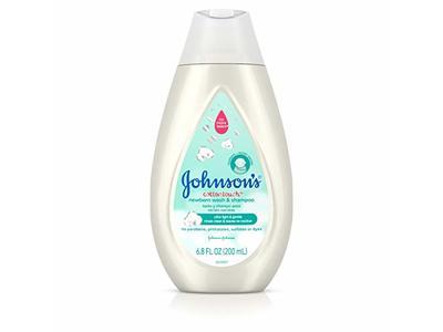 Johnson's Cotton Touch Newborn Baby Wash & Shampoo, 6.8 oz