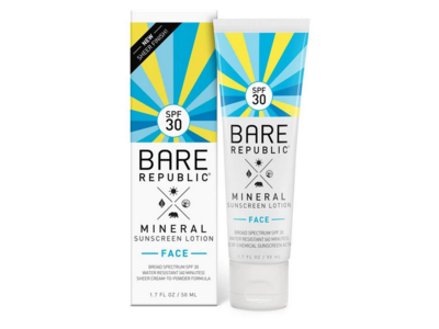 Bare Republic Mineral Face Sunscreen Lotion, SPF 30, 1.7 oz - Image 1